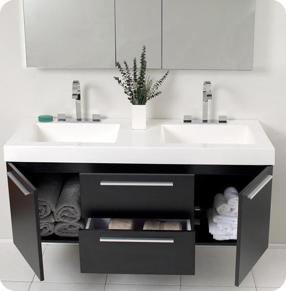 24 Modern Floating Bathroom Vanities and Sink Consoles ...