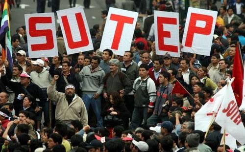Huelga del SUTEP:  mentalidades e ideologías del magisterio nacional