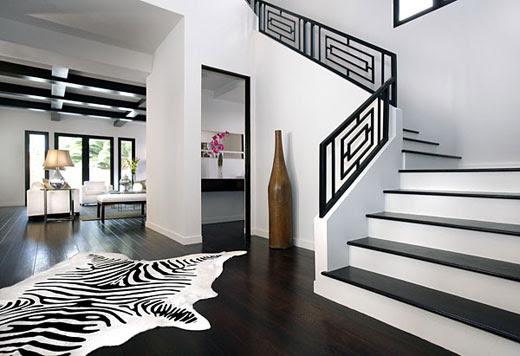 Stylish home: Black and white interiors - Luscious: myLusciousLife.