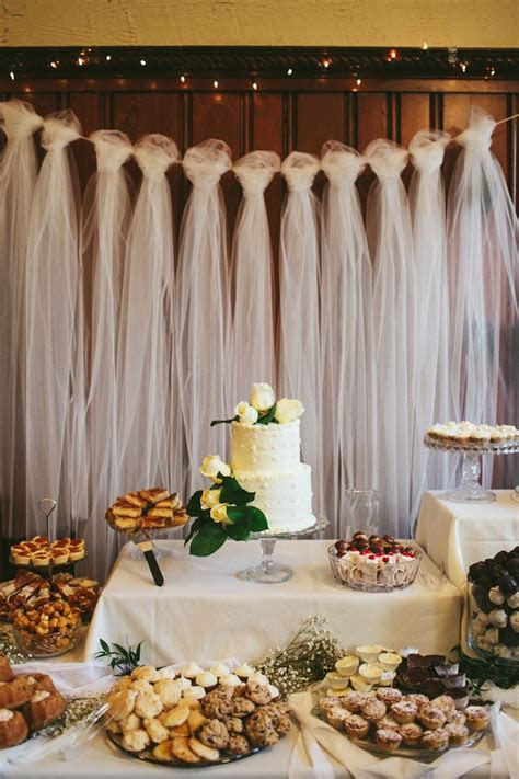 Best 20  Tulle wedding decorations ideas on Pinterest