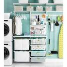The Container Store > White elfa utility Deluxe Laundry Room