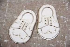 Buty - mokasyny chłopięce 5x8 cm