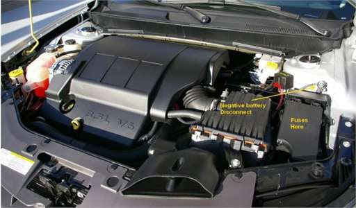 2002 Chrysler Sebring Fuse Box Diagram