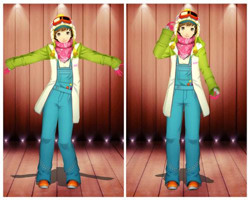 MMD Chie Snow Suit