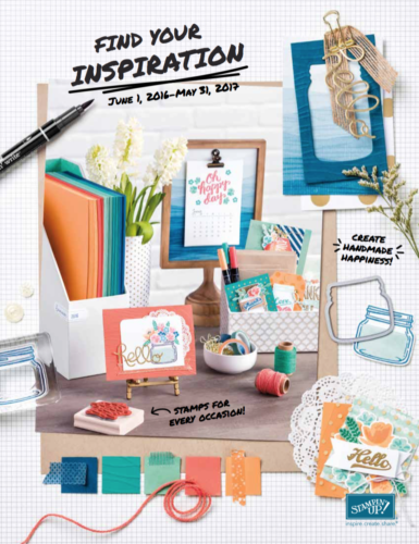Stampin Up 2016-2017 Annual Catalog
