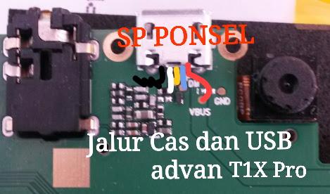 Harga Tablet Advan T1X PRO Usb Charging Problem Solution Jumper Ways