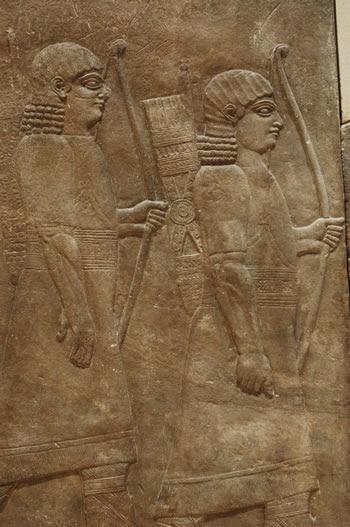 Guardias de Assurbanipal (Museo del Louvre)