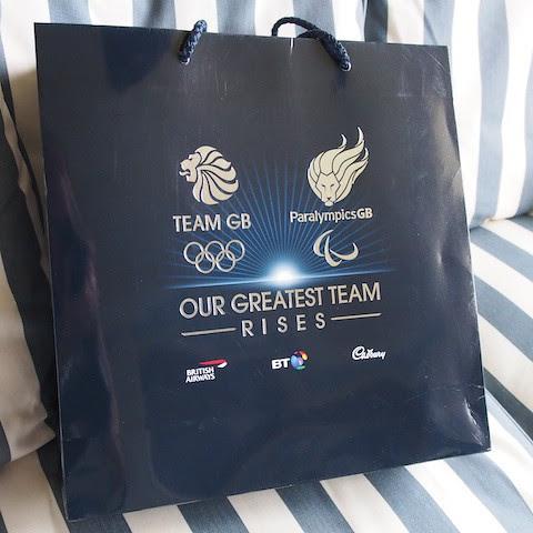 Team GB goody bag