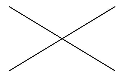 Ejemplo de líneas rectas