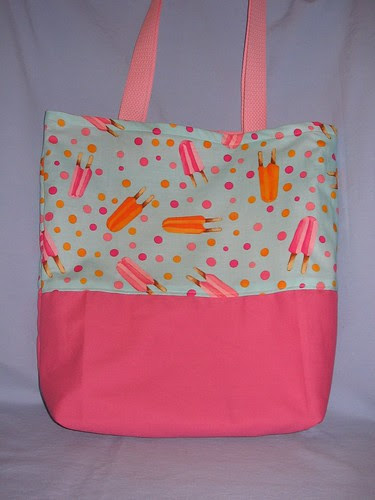 Popsicle Tote Bag