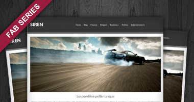 Siren Free WP Theme