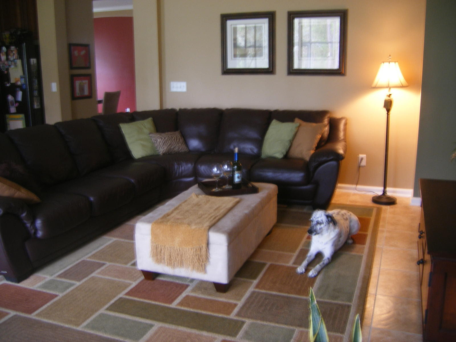 Another picture of living room decorating ideas burgundy sofa