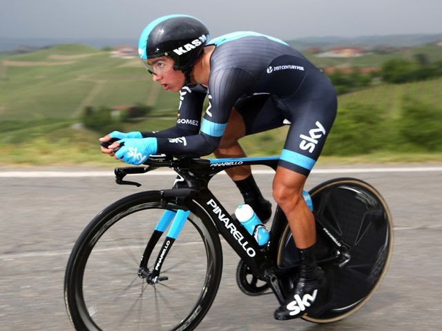 Henao: Continued his impressive debut Grand Tour