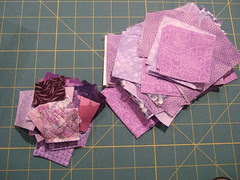 Purple Squares cut