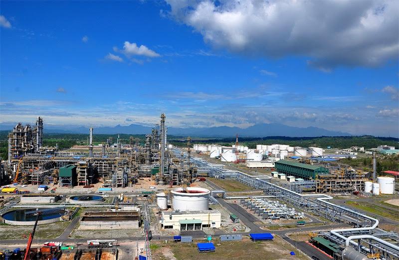 Lọc dầu Nghi Sơn,PVN,Tập đoàn Dầu khí,dự án chậm tiến độ