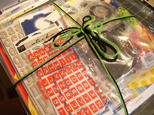 Green Tangerines Wrapped Kit