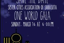 2014 One World Gala / Details on the Gala on the Blog / by Sister Cities Association of Sarasota