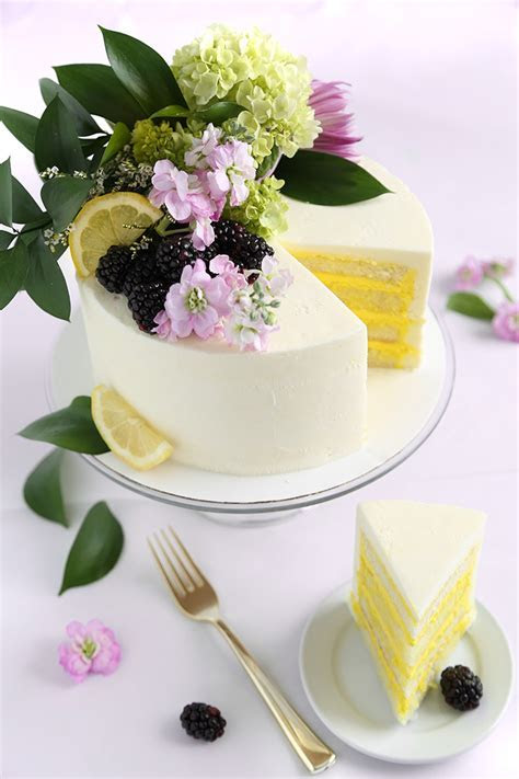 Celebrate like a Royal with Lemon Elderflower Cake