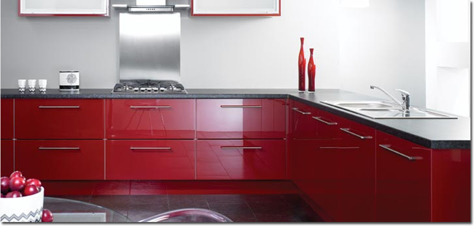 Reflections Burgundy Fitted Kitchen Burgundy Fitted Kitchen From Tkc Red Kitchen