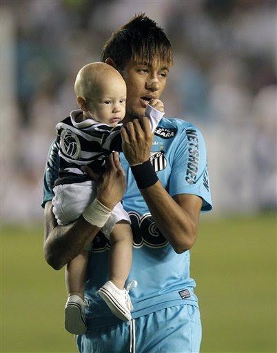 Neymar son David Lucca da Silva Santos