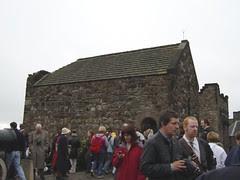 St Margaret's Chapel di Edinburgh Castle, Edinburgh, Scotland, United Kingdom