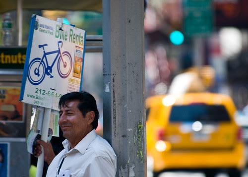 Rent a Bike or Take a Cab?