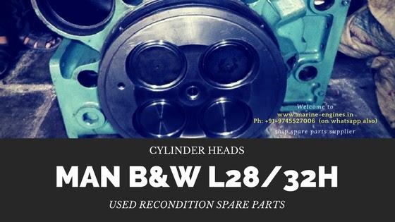 Cylinder Head | MAN B&W L28/32H
