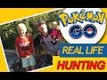 Pokemon Go! REAL LIFE HUNTING