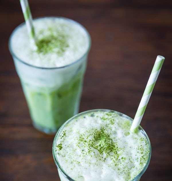 Thai green tea latte | ♥ HIPHIPHORRAY
