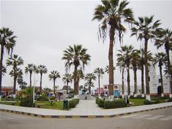 plaza de armas de chincha