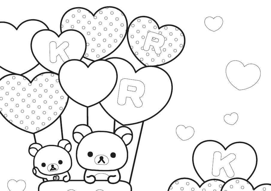 Dibujos Para Colorear Amor Y Amistad Imagesacolorierwebsite