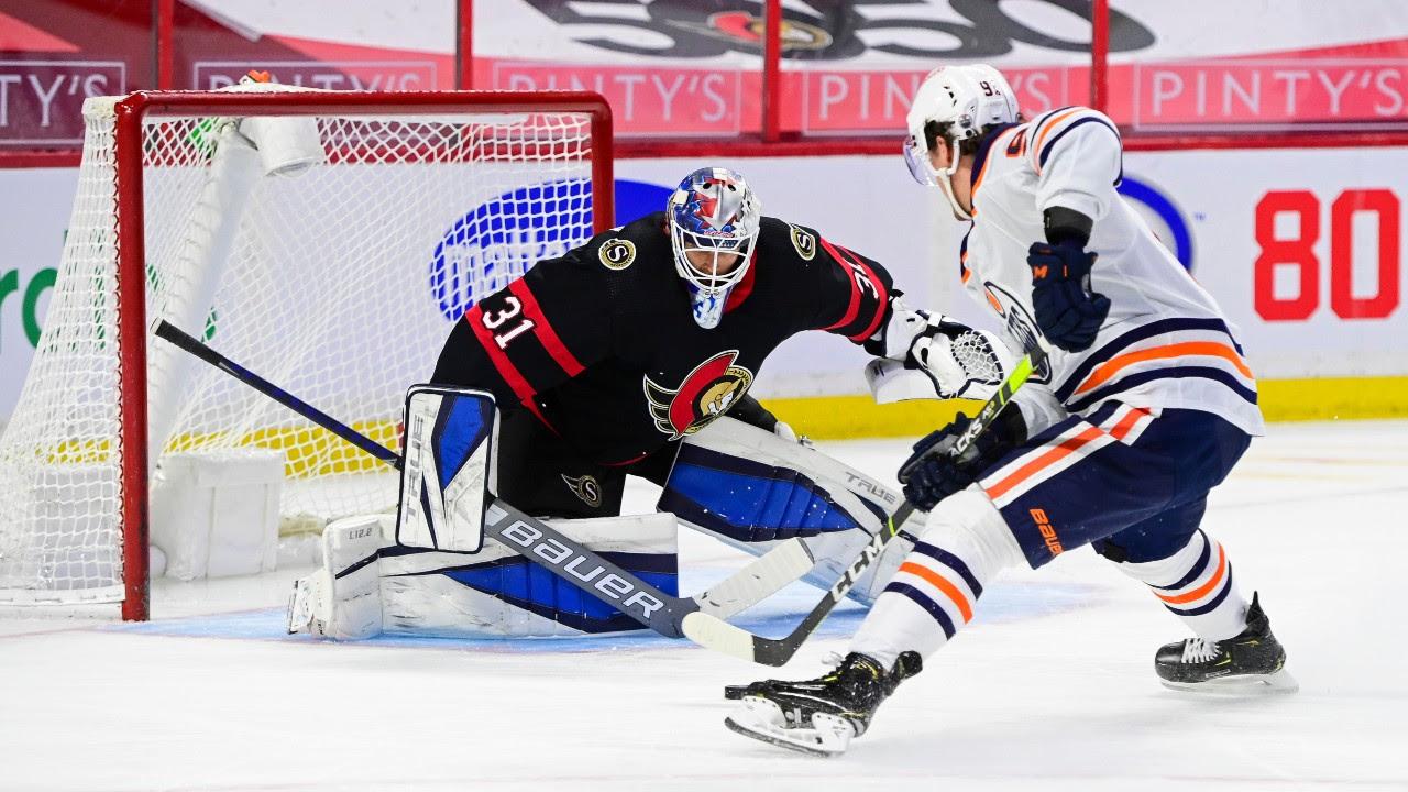 Senators starting Forsberg, sending Brannstrom to AHL ahead of opener