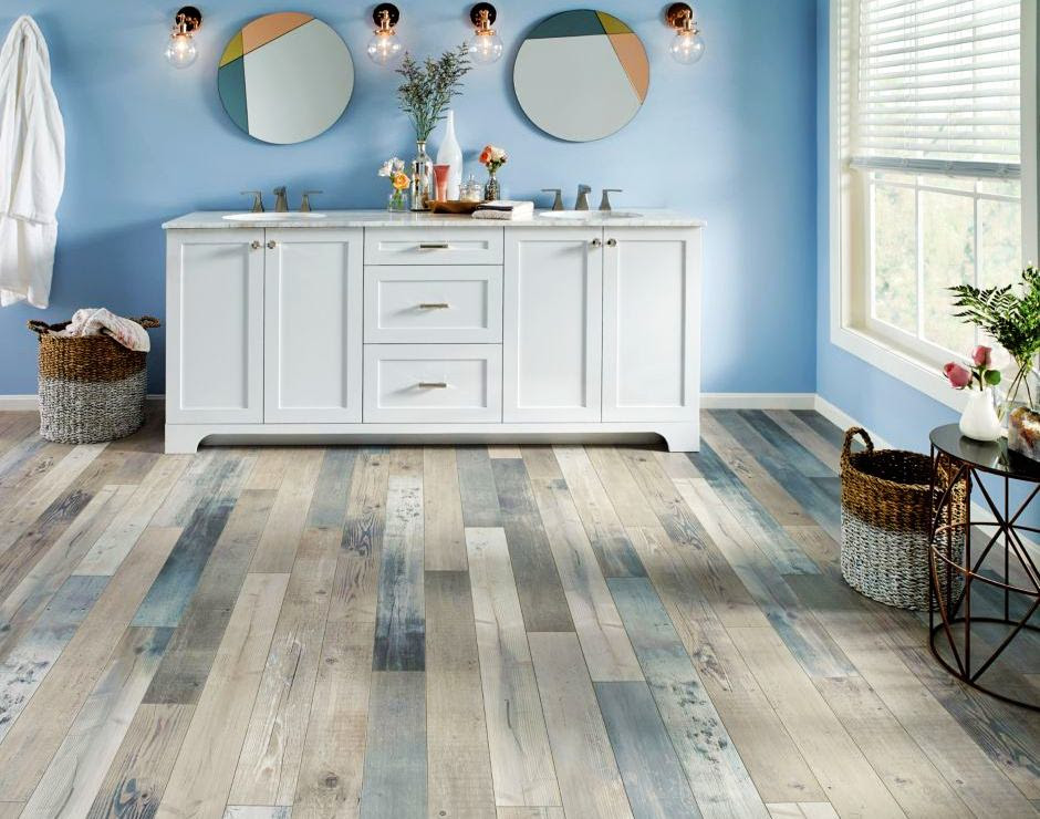 What Furniture & Wall Colors Match with Gray Flooring?