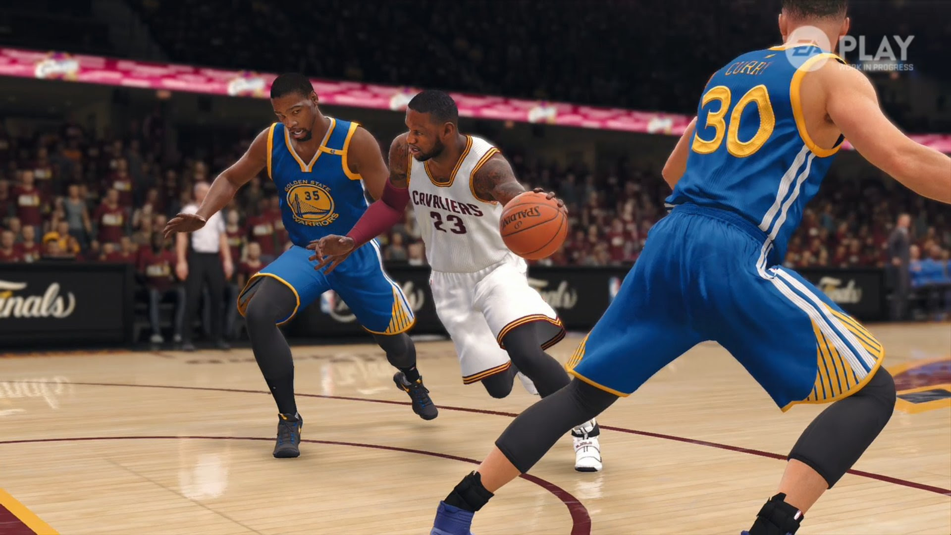 EA is still trying to make basketball games for some reason with NBA Live 18 screenshot