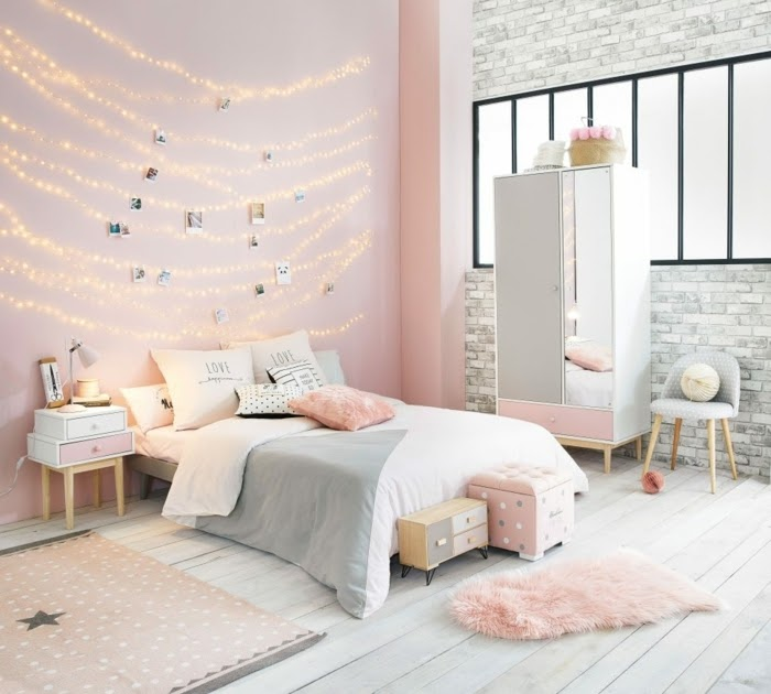 Rosa Bild: Welche Farbe Passt Zu Rosa Wandfarbe