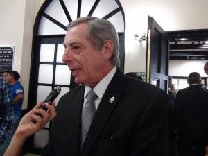 En la imagen de archivo el Diputado, Luis Fishman. CRH.