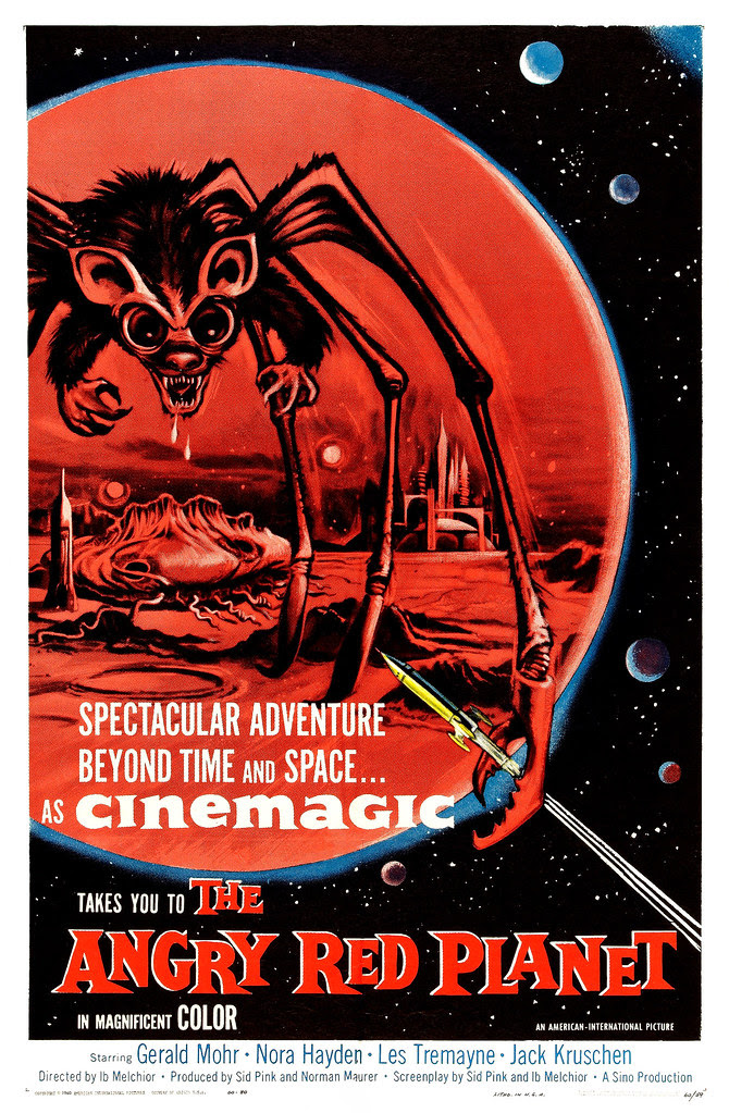 The Angry Red Planet (American International, 1960) One Sheet