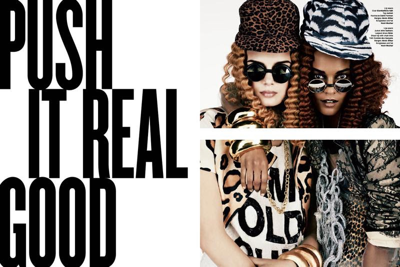 PUSH IT REAL GOOD by V magazine