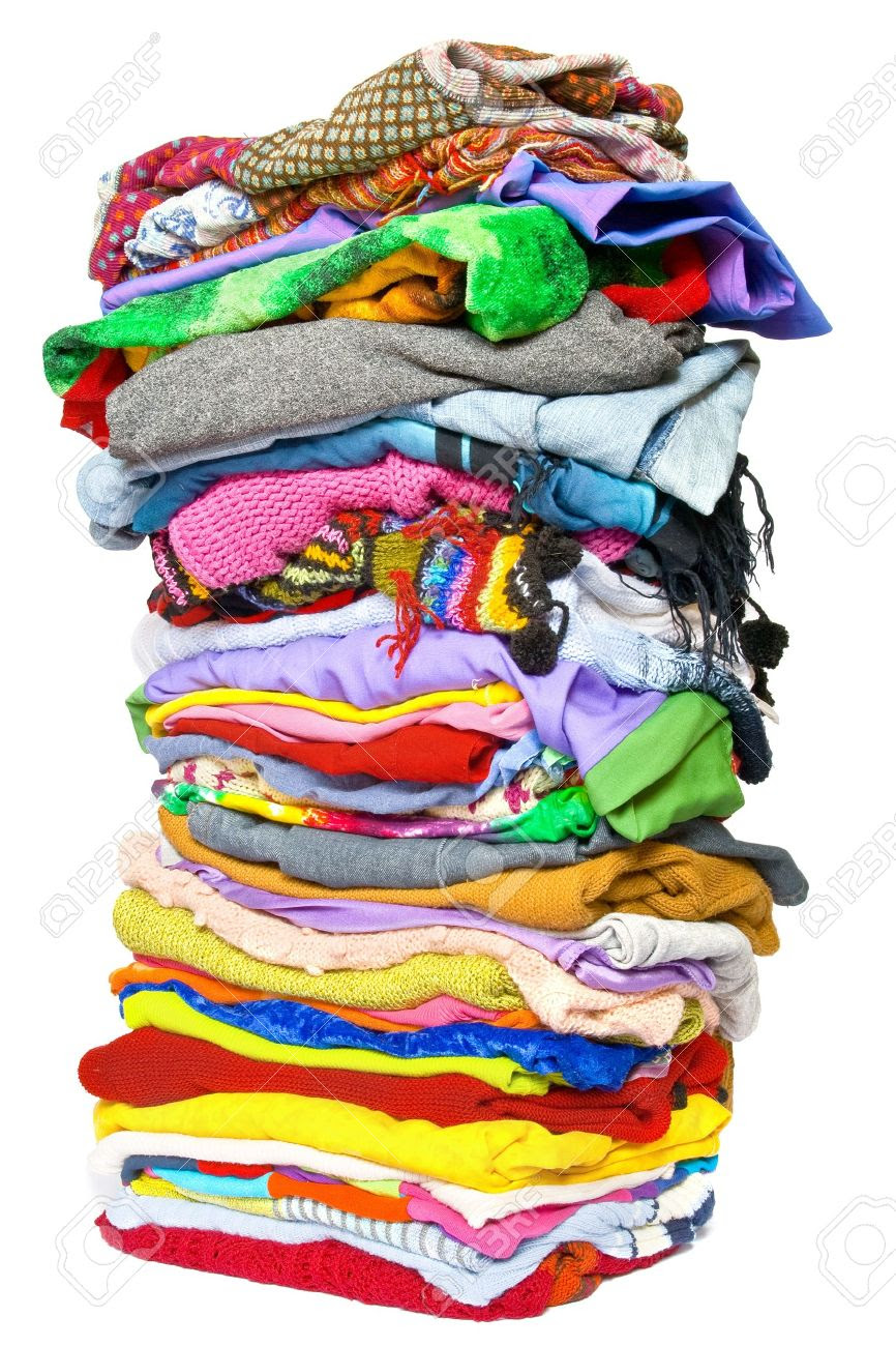 Image result for stacks of clothes and shoes