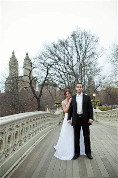 Central Park Weddings at Bow Bridge, Manhattan, New York, USA