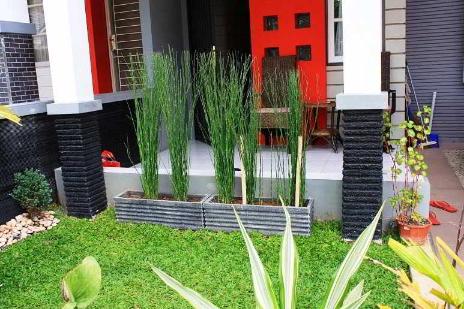 desain taman cara membuat taman kecil di depan rumah