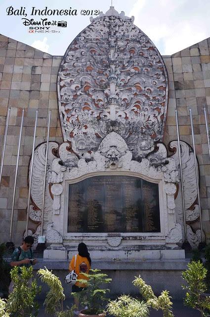 Bali Day 4 Kuta Memorial Bali Bombing