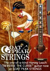 Goat Peak Strings - Harvey Leach Reverse the Curse Guitar