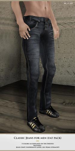 Zaara : Classic jeans for men
