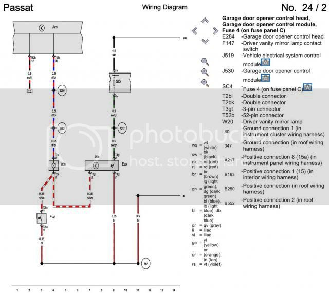 home link wiring diagram