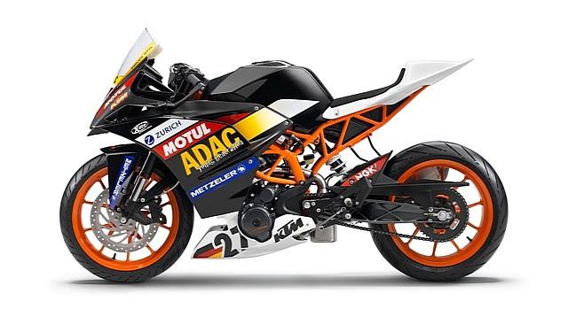 KTM RC390 Race Cup bike