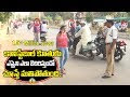 Police Constable Daughter Caught Triple Riding in Kadapa
