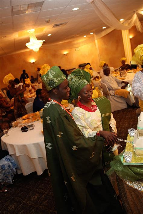 Dance Filled Yoruba Wedding Ceremony {New Jersey}   The