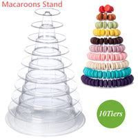 4 Tier Clear Acrylic Display Stand Makeup Nail Polish