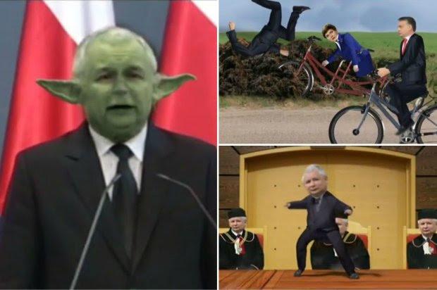 Screen z teledysku o współczesnej Polsce wyświetlonego w niemieckiej telewizji publicznej